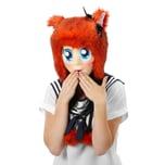 Elope Anime Maske mit blauen Augen