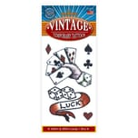 Tinsley Lucky Vintage Klebe-Tattoo