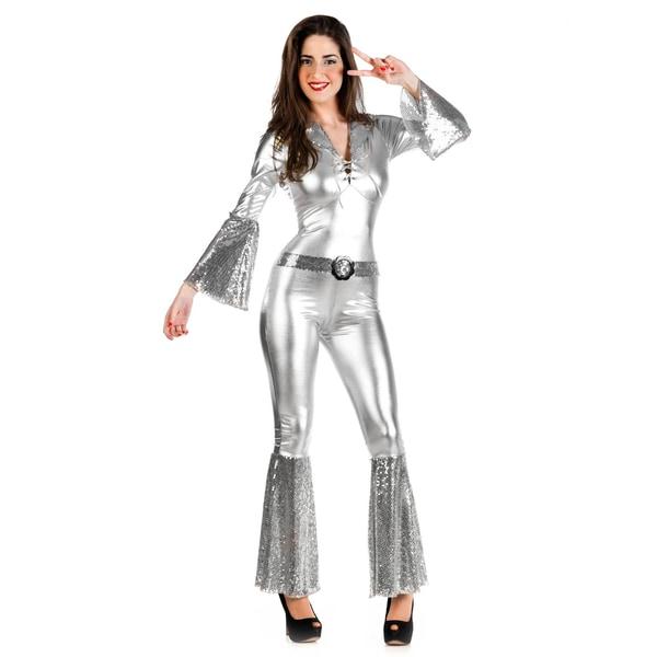 Limit Sport Disco Diva silber Kostüm