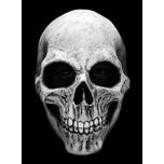 Ghoulish Productions Skull weiß Maske aus Latex