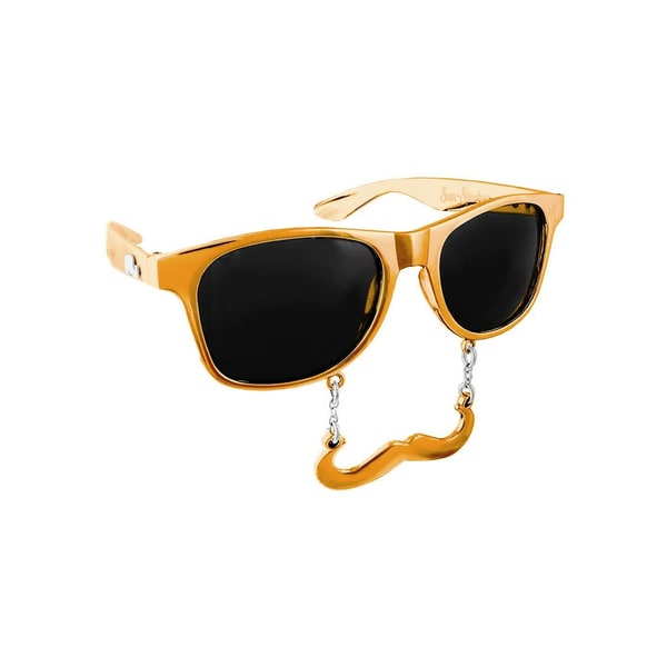 Sun Staches Classic gold Partybrille