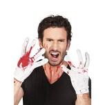 Boland Blutige Handschuhe