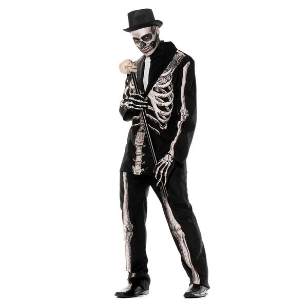 Underwraps Gentleman Skelett Kostüm