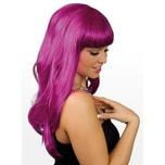 Boland Lange Haare violett Perücke