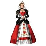 In Character Herzkönigin Deluxe Kostüm