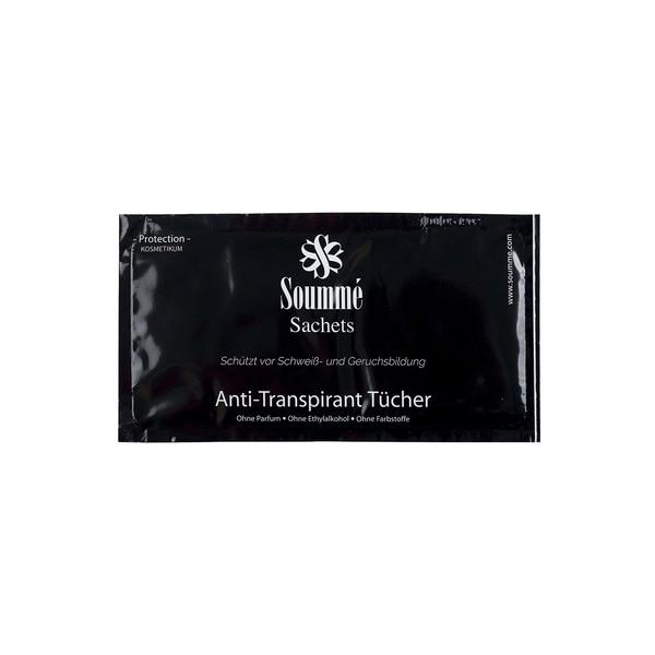 Soummé Protection For Men Antitranspirant Kosmetikum Sachets 14 Tücher