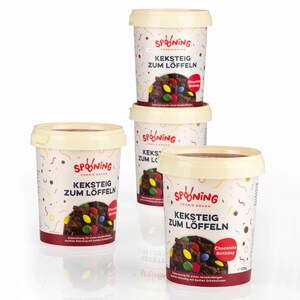 Spooning Cookie Dough Keksteig Chocolate Birthday 4er Set Bei Rewe
