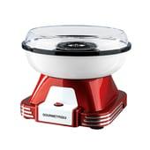 GourmetMaxx Zuckerwatte-Maschine, rot/weiß