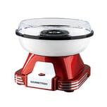 Gourmetmaxx Zuckerwatte-Maschine rot/weiß