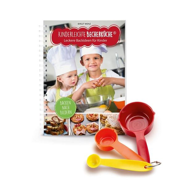 Backhilfe: Kinderleichte Becherküche - Leckere Backideen für Kinder - 4-tlg. Set