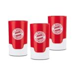 Taste Hero FCB Bier-Aufbereiter für echte Fans, passend für Glas- und PET-Flaschen - 3er-Set