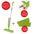 CLEANmaxx Spray-Mopp mit 600ml Tank limegreen