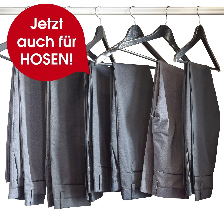 Cleanmaxx Bügler-Aufsatz für Hosen - Silber/Weiß
