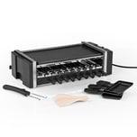 MAXXMEE Multi-Raclette-Grill - 3in1 - 1200 W - schwarz