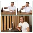 Taste Hero Flaschenaufsatz - 3er-Set für Glas- und PET-Flaschen, spülmaschinengeeignet weiß