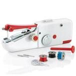 EASYmaxx Hand-Nähmaschine Kompakt - 9-teiliges Set- weiß