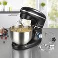 GOURMETmaxx Küchenmaschine - 6 Geschwindigkeitsstufen und Turbofunktion - schwarz