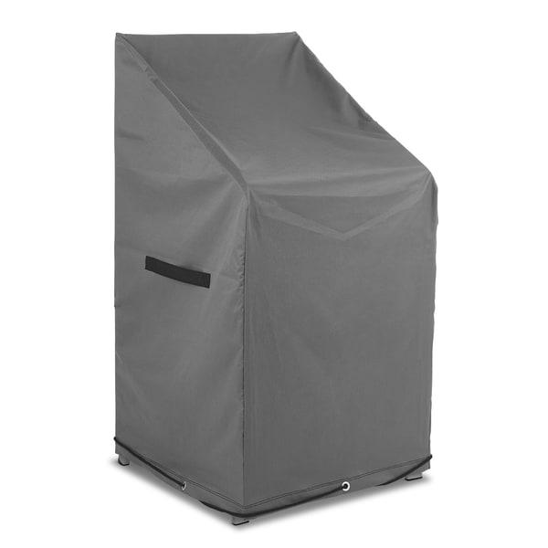 PRIMA GARDEN Abdeckhaube für Gartenstühle Wasserdicht Abperleffekt 600D Oxford Polyester