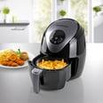 Gourmetmaxx Digital Heißluft-Fritteuse 2,5l 1500W schwarz/grau