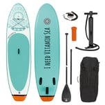 EASYmaxx Stand-Up Paddle-Board - 2020 - 300cm - weiß/blau