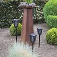 Prima Garden LED Solar-Fackelleuchte 4-teilig
