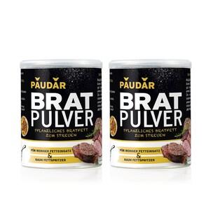 PAUDAR Bratpulver pflanzliches Bratfett in Pulverform 2x 125g