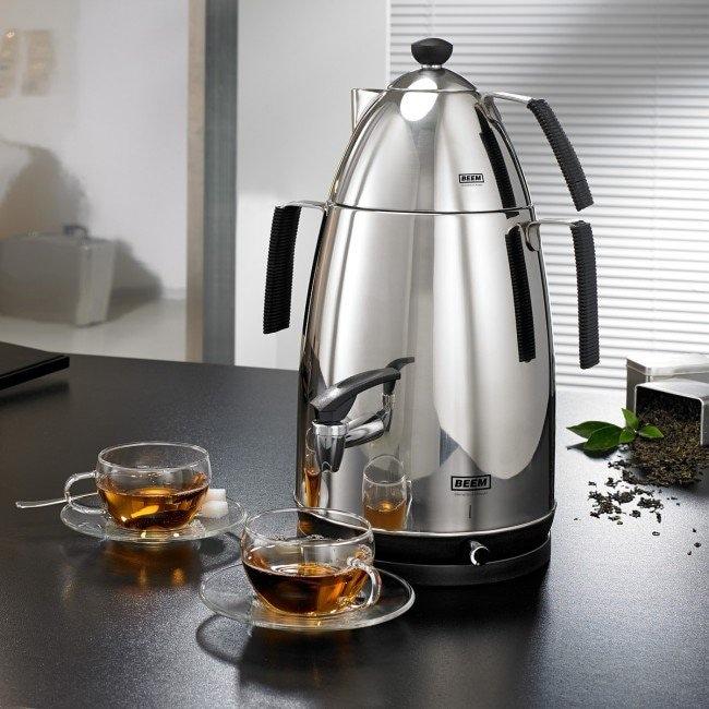 BEEM Samowar Mr. Tea V2 Deluxe 4l 2500W in Edelstahl