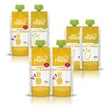 Hilli Fruits BIO-Fruchtpüree 3x Mango + 3x Ananas, 6x 300g