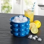 GOURMETmaxx Eiswürfelbehälter - Für 24 Eiswürfel - blau