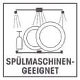 GOURMETmaxx Glas Frischhaltedosen Klick it 6tlg