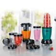 GourmetMaxx Mr. Mixer Küchenmaschine smaragdgrün 18-teilig