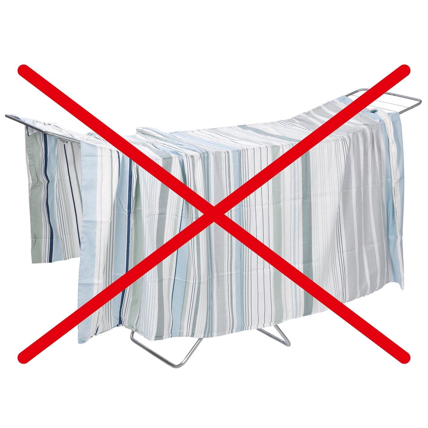 TROCKENFIX Wäschebügel weiß