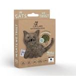 """CATLABS Katzenspielzeug """"Kuschelige Katze"""" mit Katzenminze"""