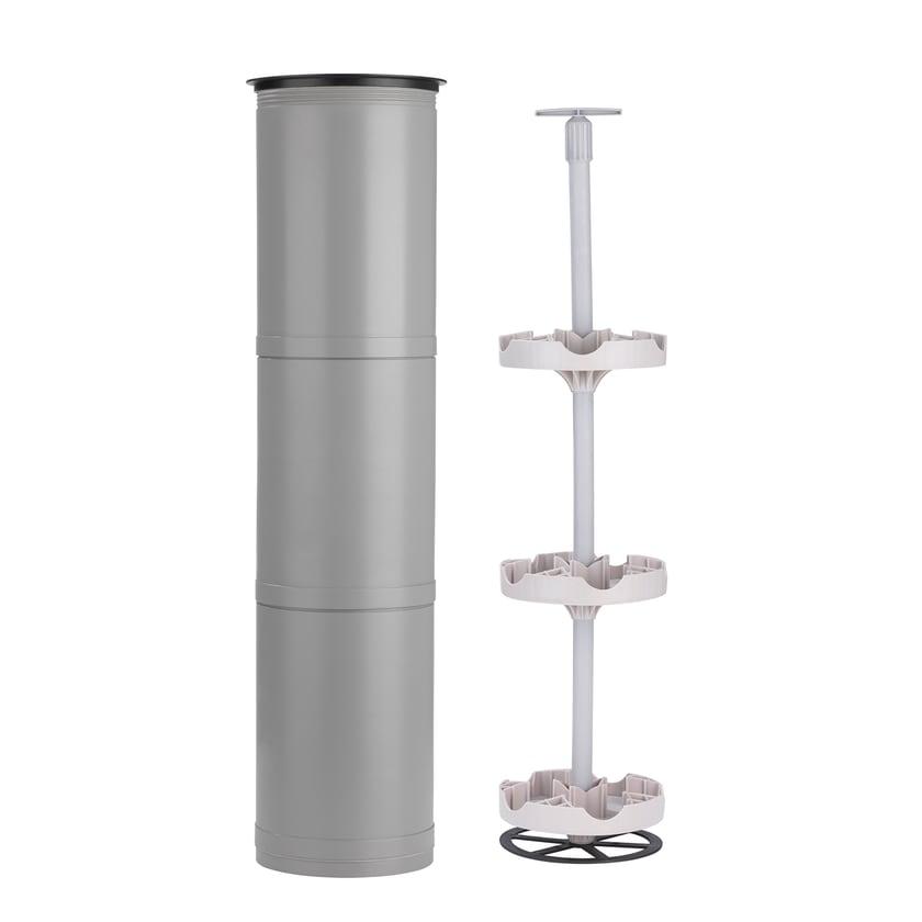 EASYmaxx Flaschenkühler Outdoor - Für bis zu 15 Flaschen - grau
