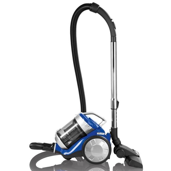 """CLEANmaxx Zyklon-Staubsauger """"2400"""" blau/silber (700 Watt)"""