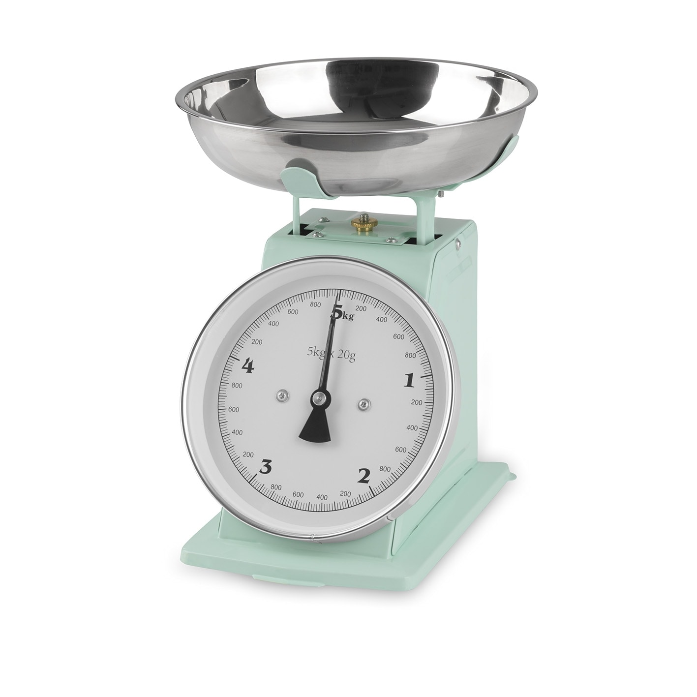 GOURMETmaxx Küchenwaage Retro in Mint
