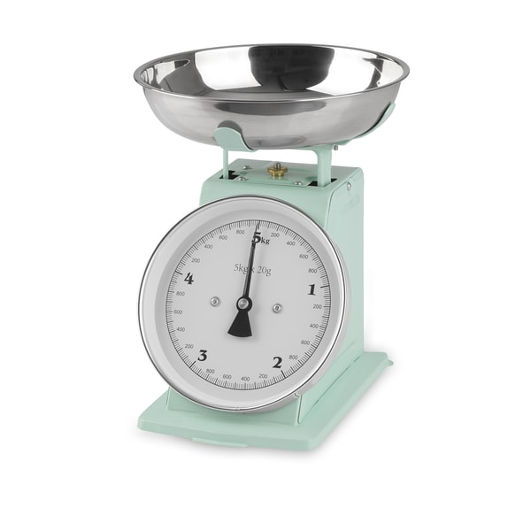 GOURMETmaxx Küchenwaage Retro in Mint