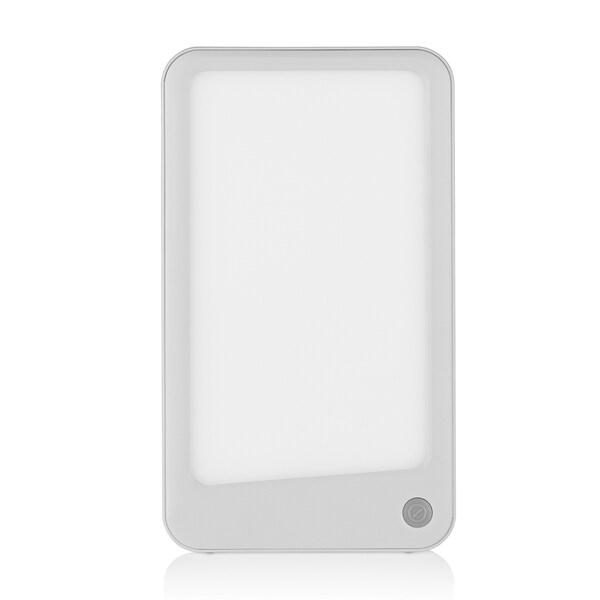 VITALmaxx LED-Lichttherapiegerät - Tageslichtsimulation - 2 Intensitätsstufen - weiß