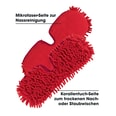 CleanMaxx Spray-Mopp flexibel in Rot