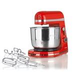 GOURMETmaxx Küchenmaschine 250W rot