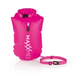 MAXXMEE Schwimmboje mit 10 l Trockenkammer 37,5 x 72 cm pink