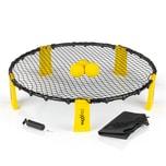 MAXXMEE Mini-Volleyball-Spiel Spike Ball Set 6-tlg. gelb/schwarz