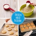 Kinderleichte Becherküche - Ofen-Rezepte für die ganze Familie - Backset inkl. 5-farbige Messbecher