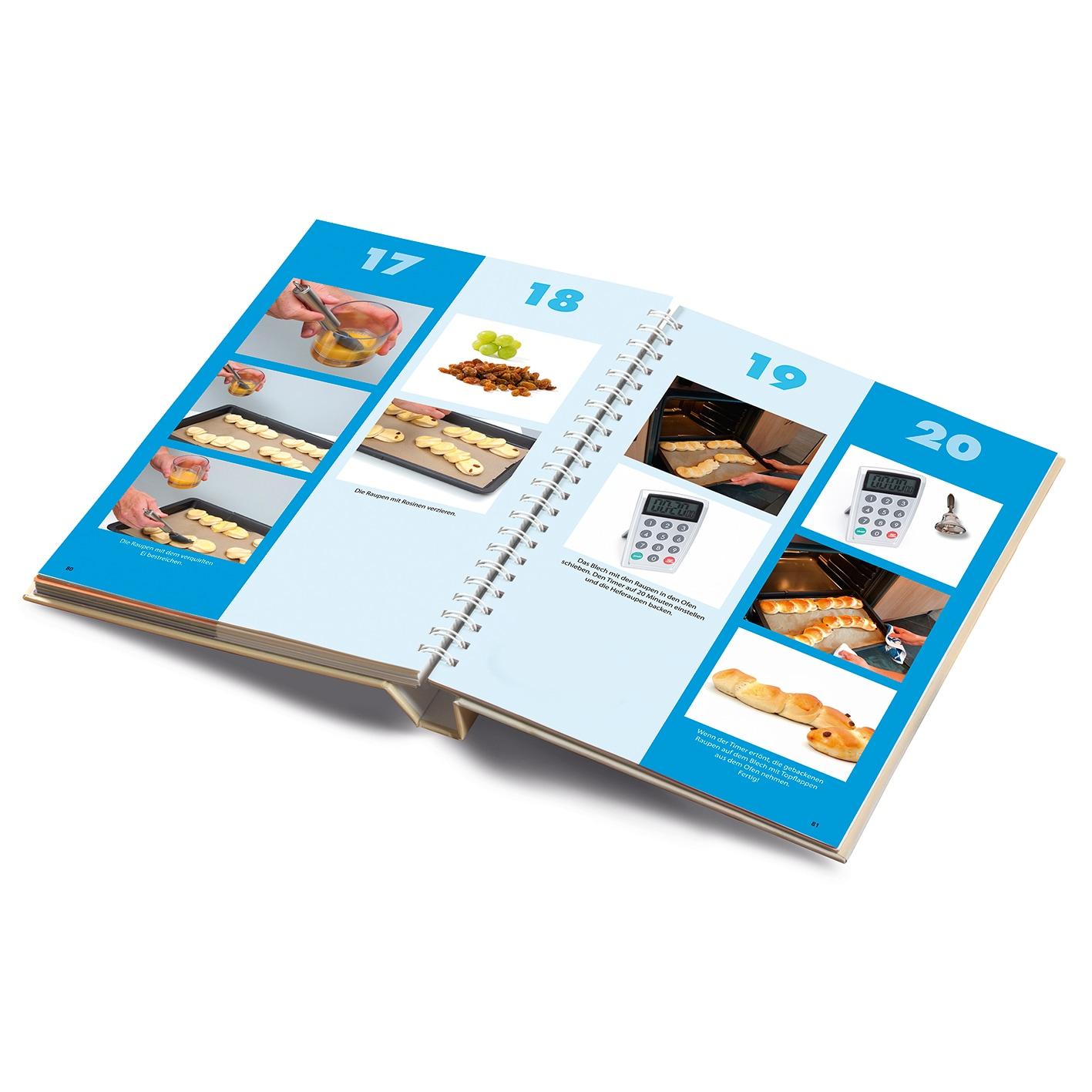 Backhilfe Kinderleichte Becherküche - Für die Backprofis von morgen - 6-tlg. Set