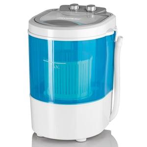 Easymaxx Mini-Waschmaschine weiß/blau