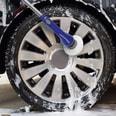 Cleanmaxx Akku-Reinigungsbürste 3,7V blau