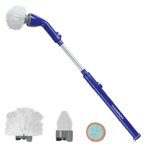 CleanMaxx Akku-Reinigungsbürste 3,7 V blau