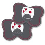 VITALmaxx Muskelstimulations-Pads 2er-Set 3V in Anthrazit/Rot