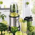 GourmetMaxx Mr. Magic Nutrition Mixer Royal Edelstahl 10-teilig