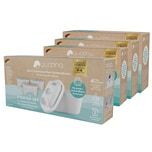 yucona Wasserfilter Starter-Kit - Kartusche mit 12 Filtertaschen